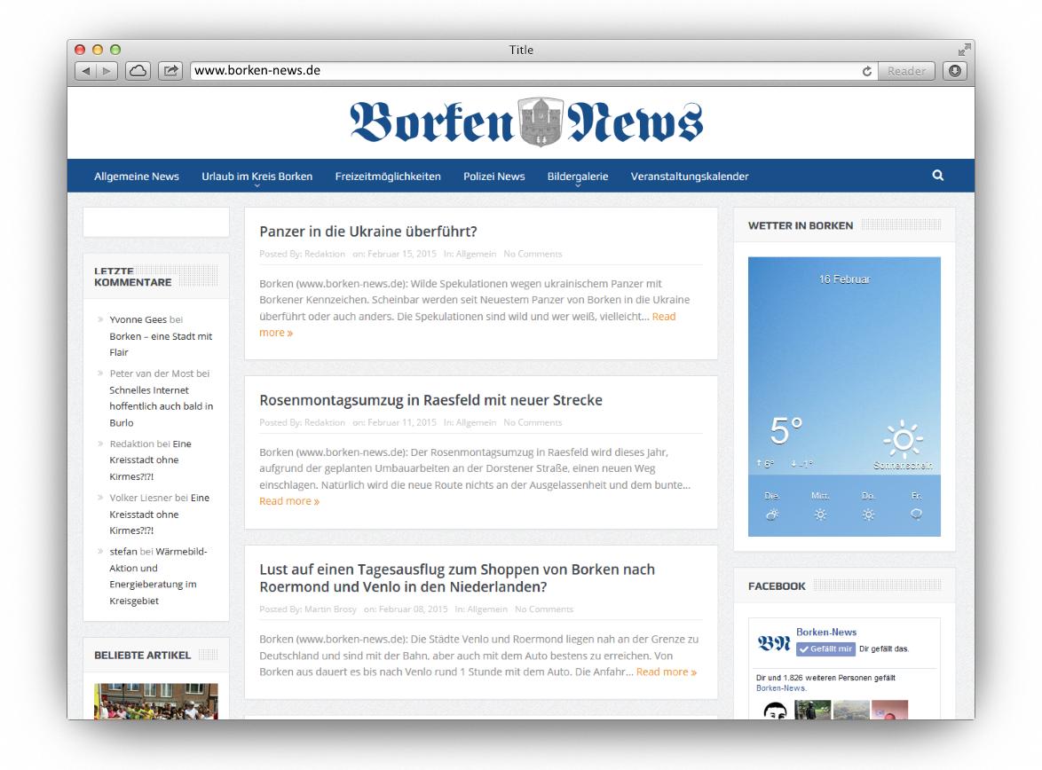 Borken-news