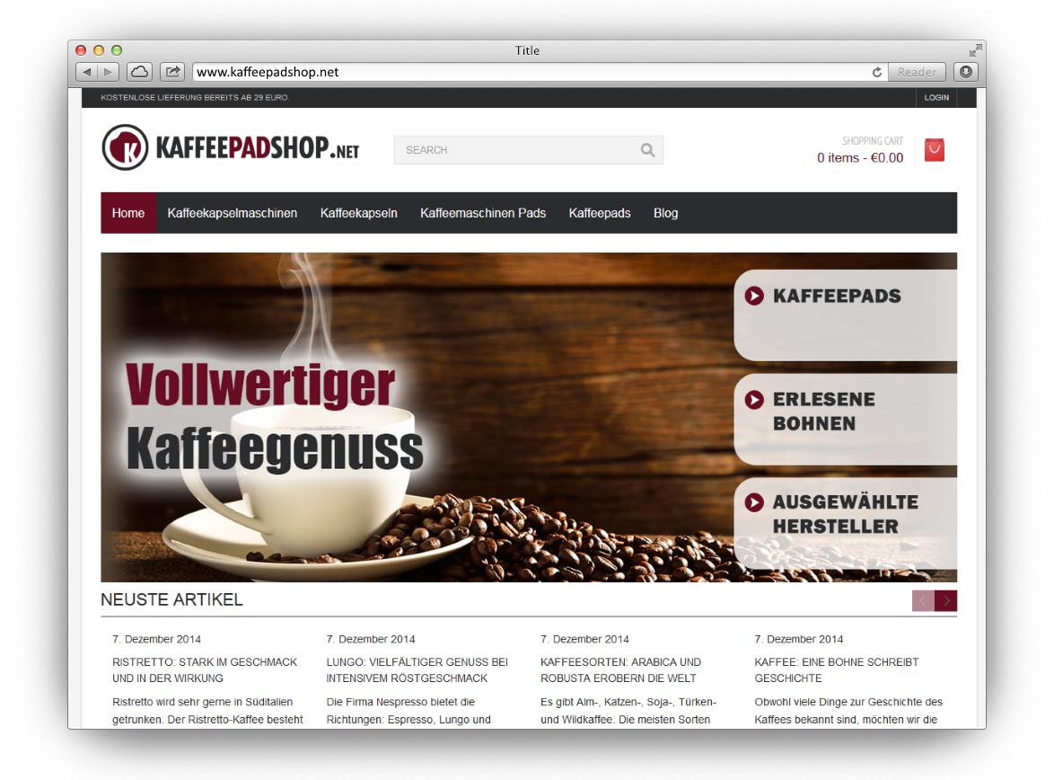 Kaffeepadshop