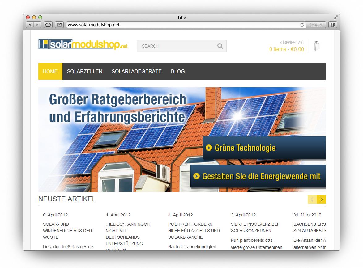 Solarmodulshop