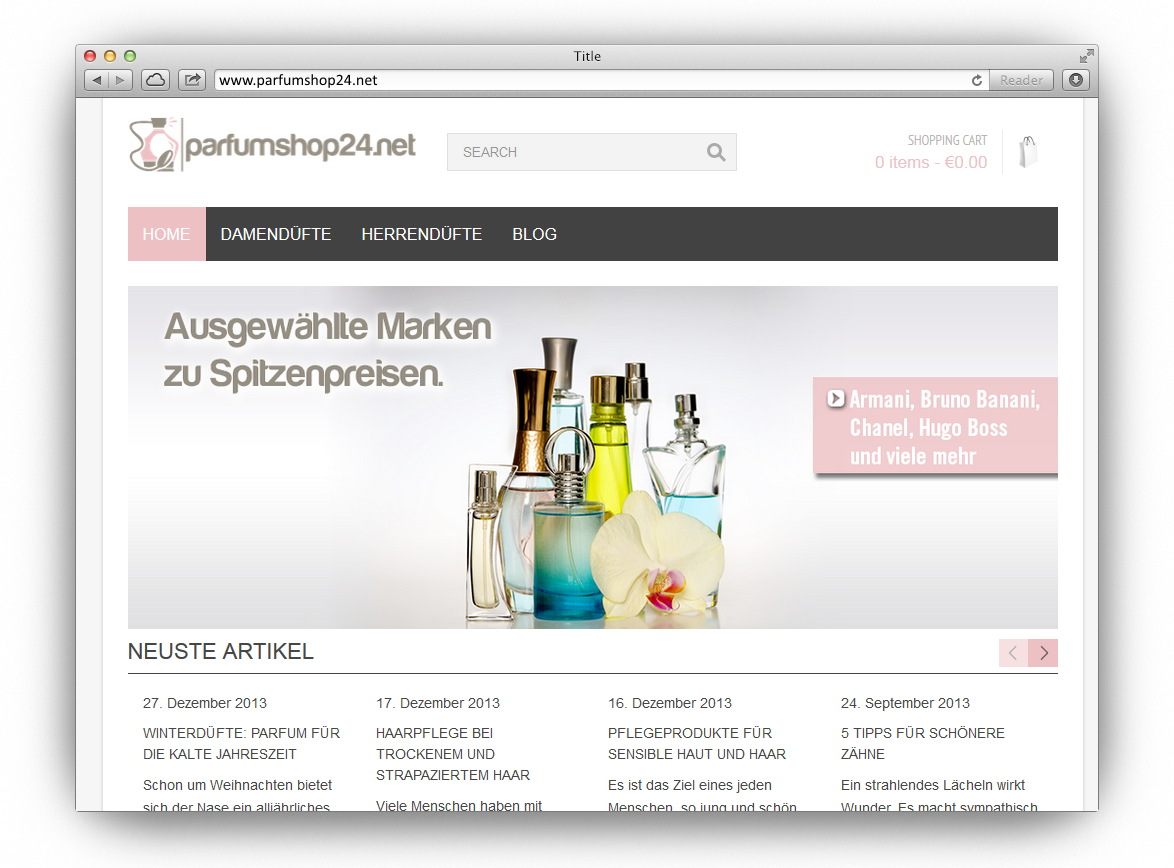 Parfumshop: parfumshop24.net
