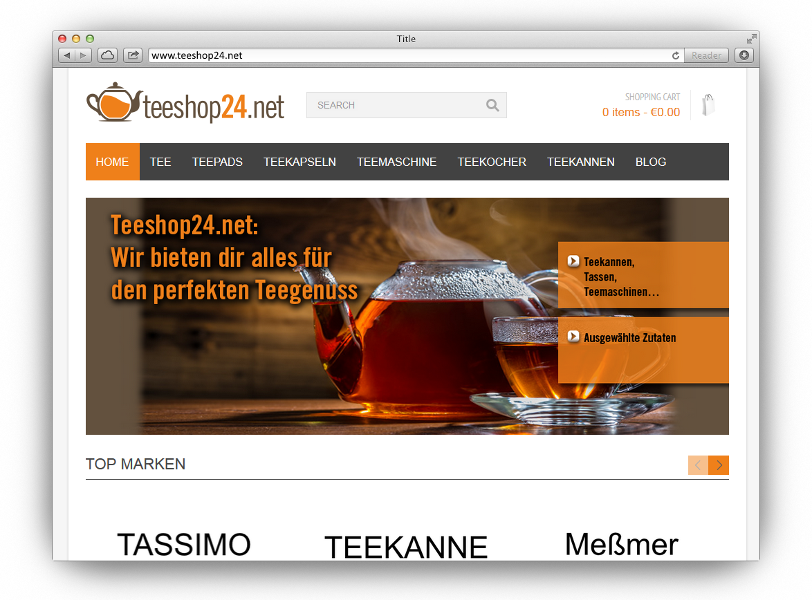 teeshop24 portfolio