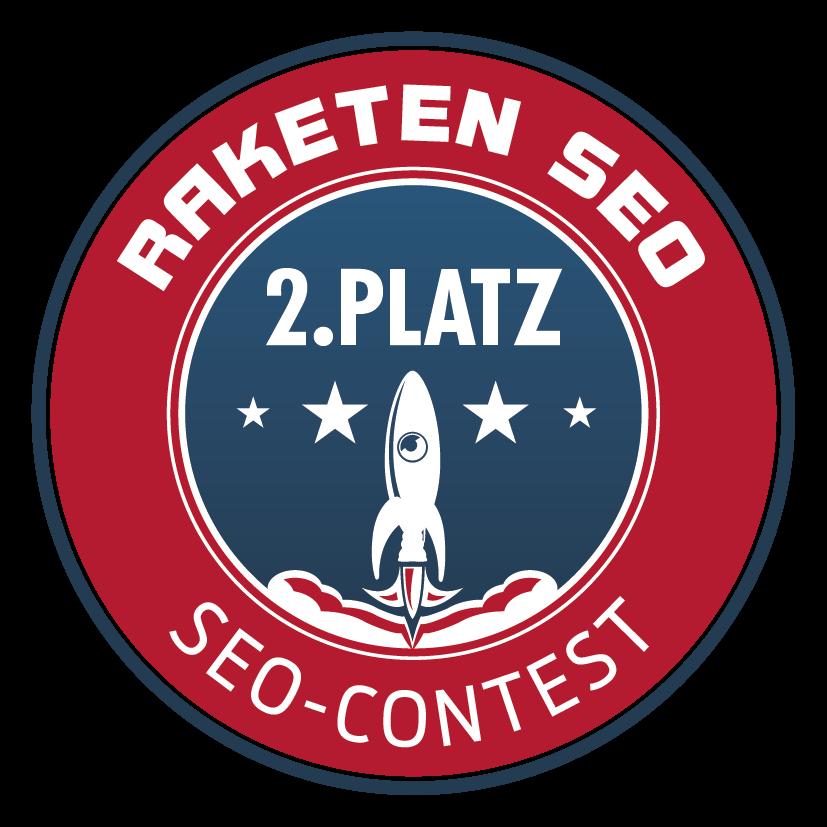 Wir haben den zweiten Platz von über 100.000 Suchergebnissen bei einem SEO-Wettbewerb belegt.