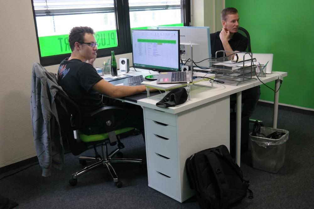 Linkmarathon mit Rainer und Christoph