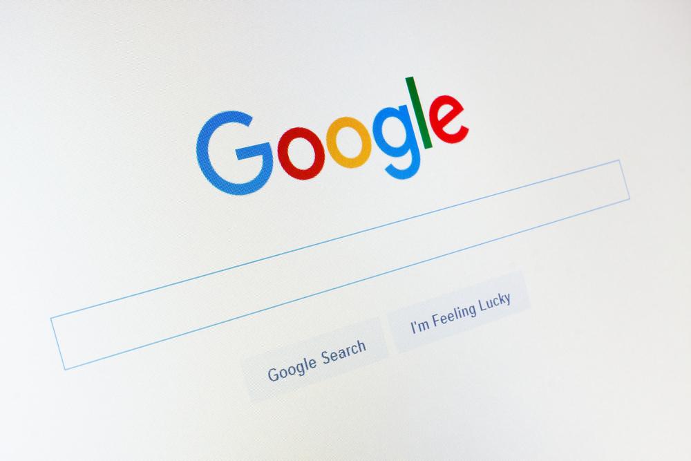 Bild der Google-Suchleiste
