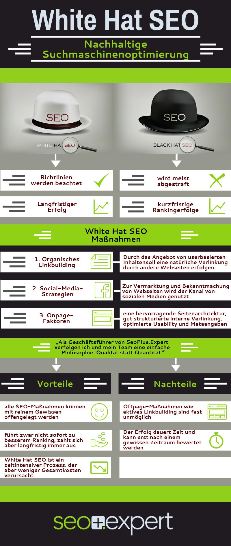 Infografik White Hat SEO