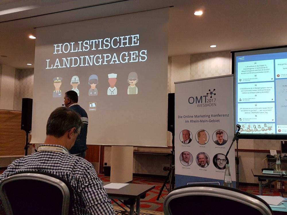 Bild OMT 2017 Holistische Landingpages